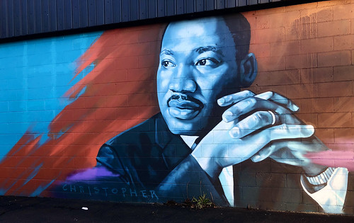 Martin Luther King Jr by Christian Rice