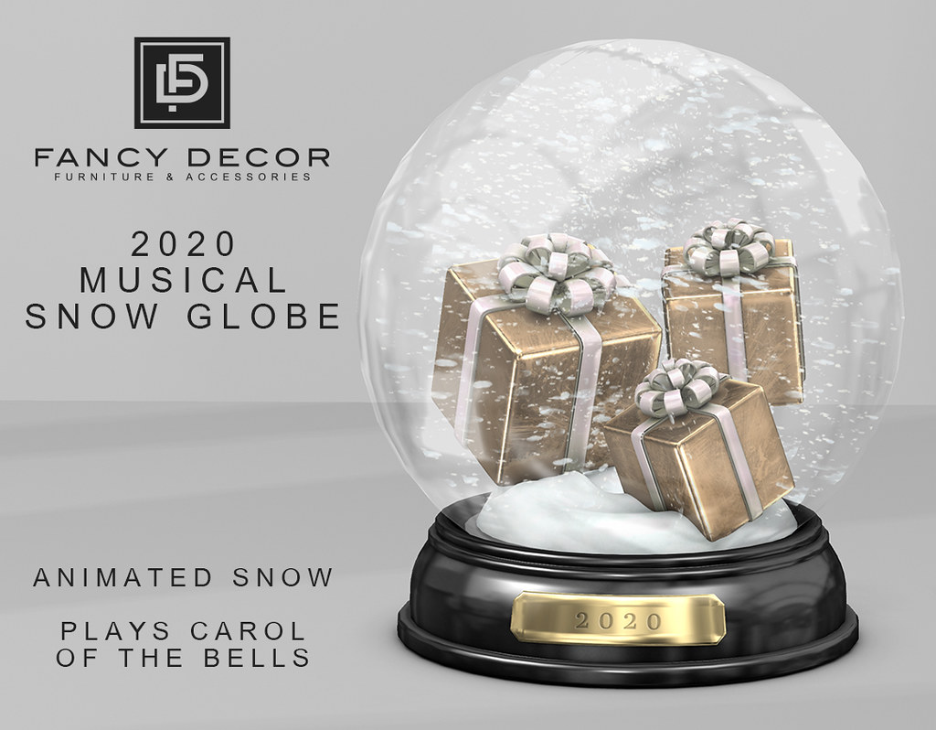 2020 Musical Snow Globe
