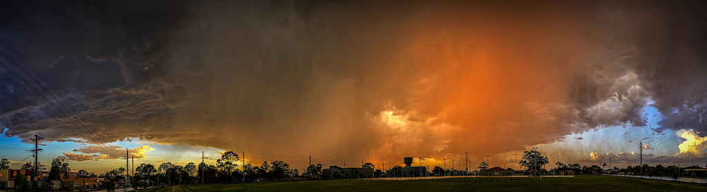 Storm Clouds over South Windsor, NSW