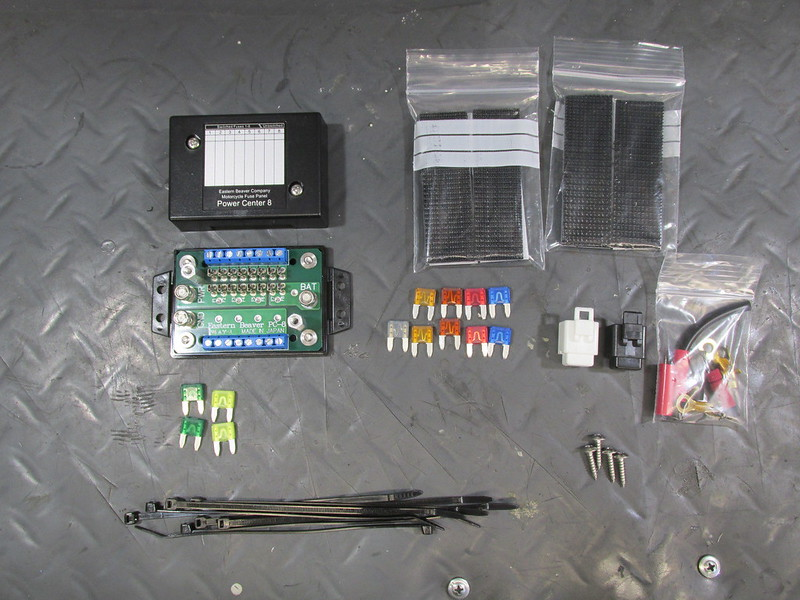 Eastern Beaver PC-8 Auxiliary Fuse Box Components