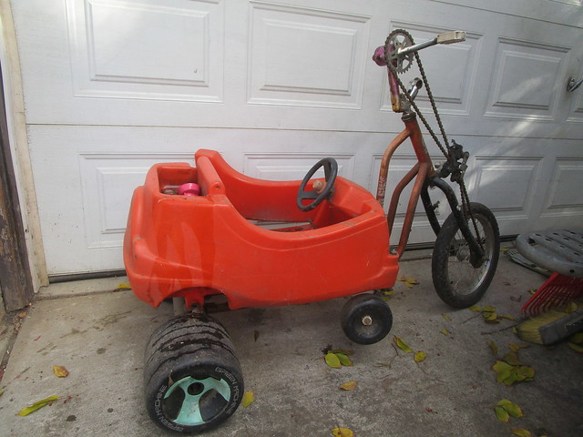 Cozy Coupe hand trike