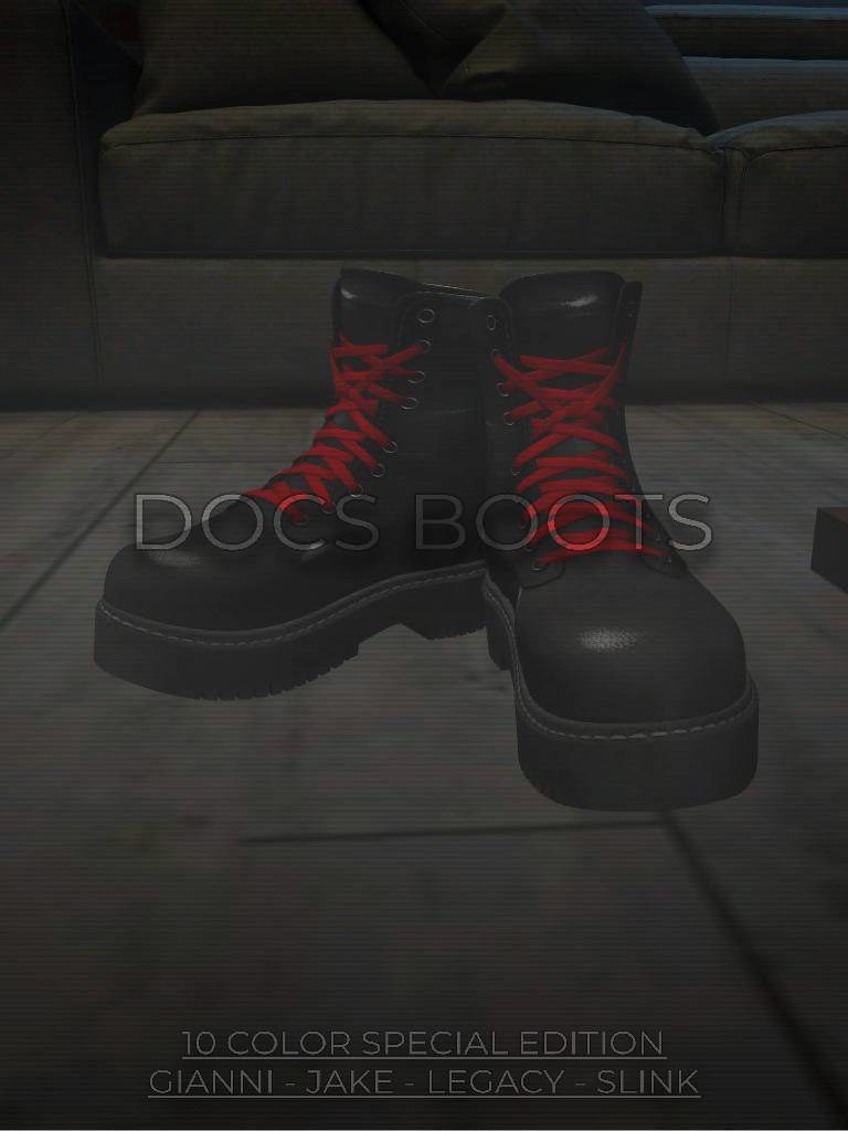 ZFG FOR HIM DOC BOOTS