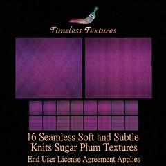 TT 16 Seamless Soft and Subtle Knits Sugar Plum Timeless Textures