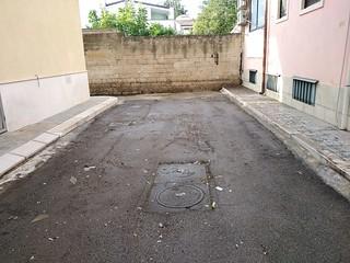 L'ultimo tratto di via Mazzini