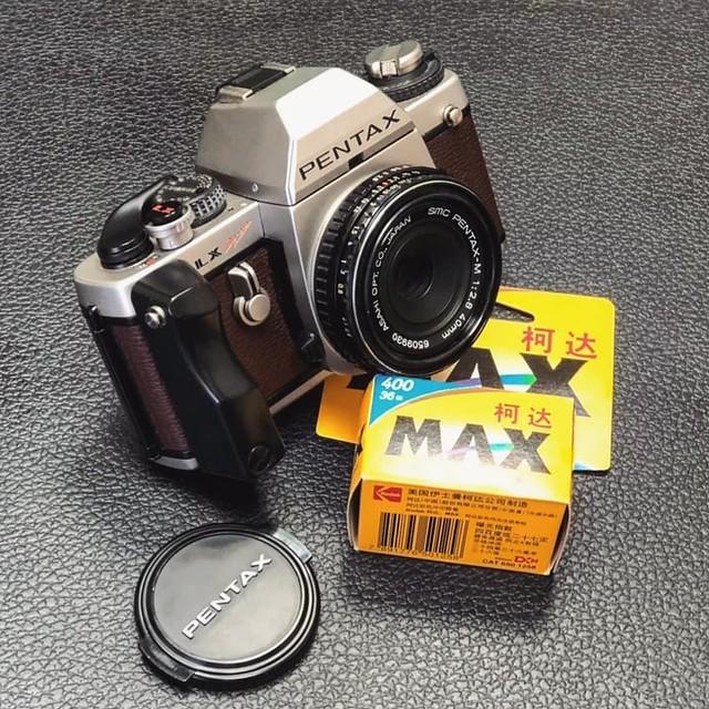 Pentax M 40mm f2.8 陳年笨餅