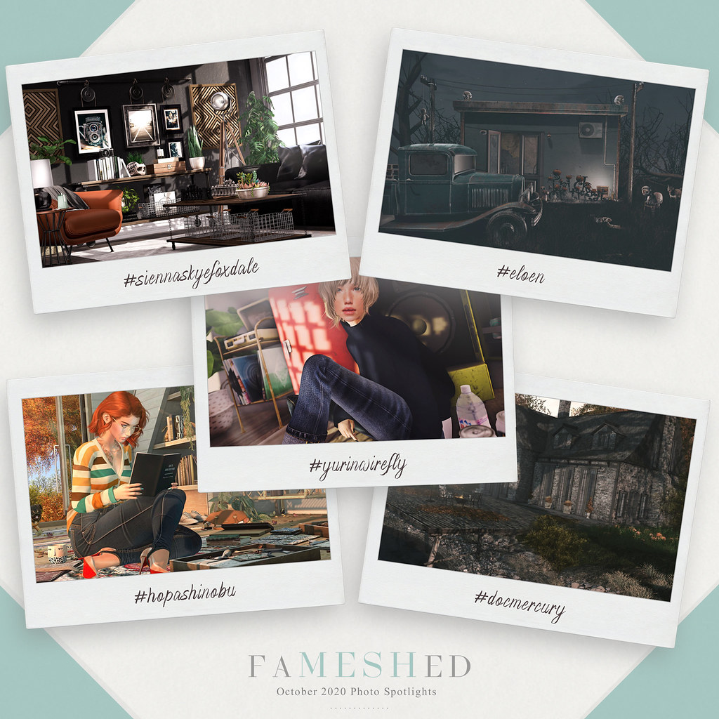 FaMESHed – October 2020 Photo Spotlights
