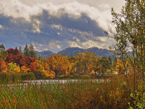 olympus clouds autumn landscape