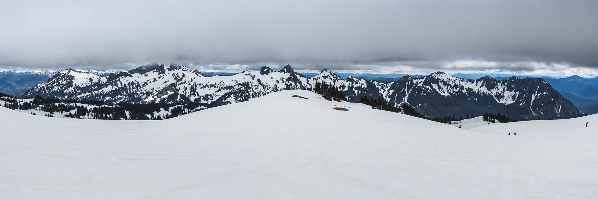 Tatoosh Range panoramic view