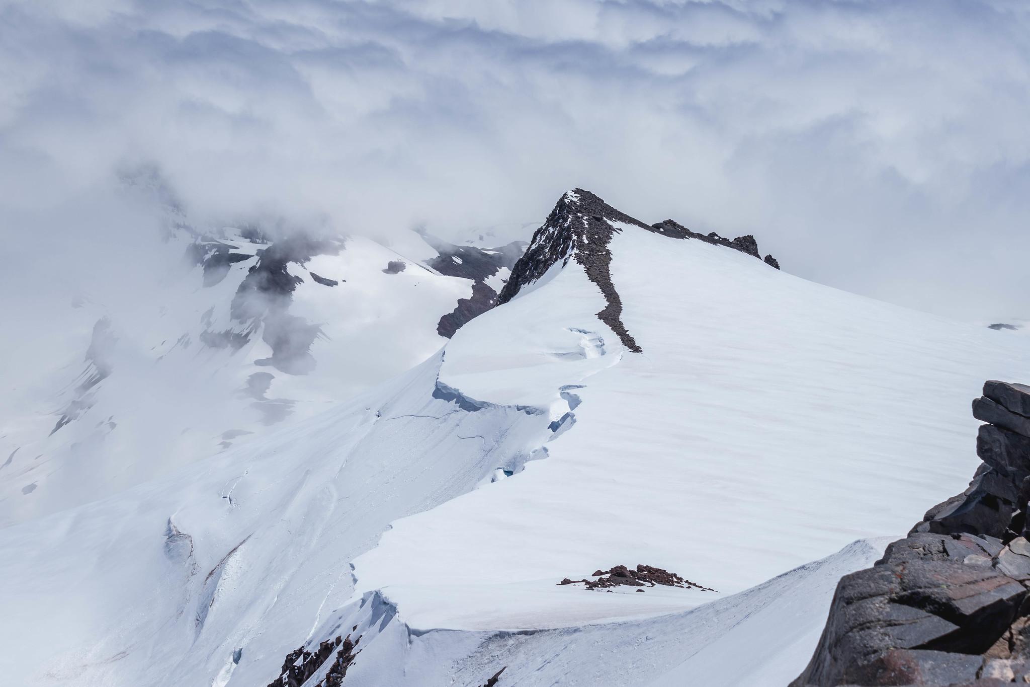 Anvil Rock from Muir Peak
