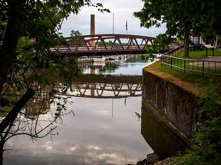Bridge over Erie Canal