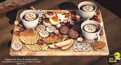 Aphrodite Winter hot choco & snacks board offer