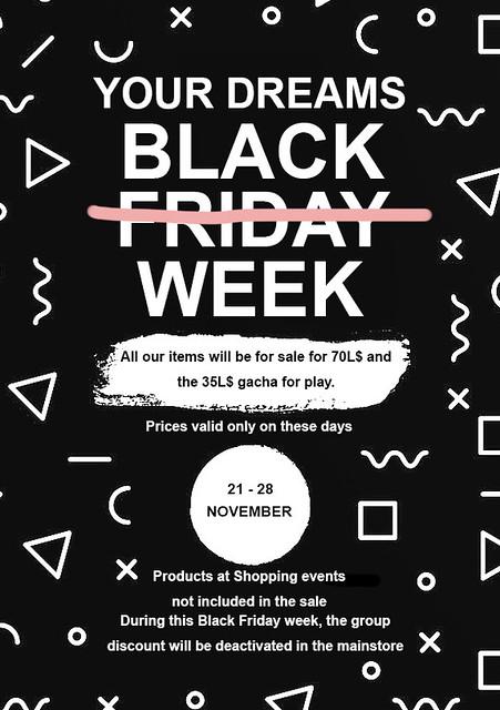 Black Friday Week – Your Dreams