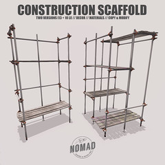 NOMAD // CONSTRUCTION SCAFFOLD