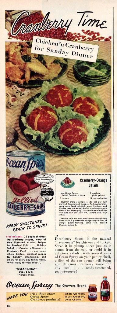 Ocean Spray 1947