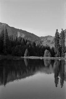 Lac des mines d'or - Alpes