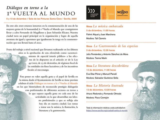 Programa Diálogos en torno a la Primera Vuelta al Mundo (2)