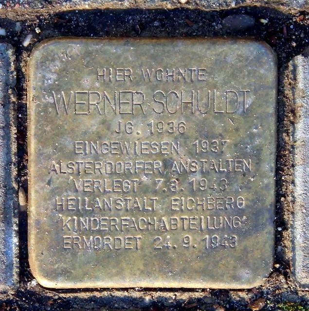 WERNER SCHULDT * 1936 Borsteler Chaussee 299 (Hamburg-Nord, Groß Borstel)