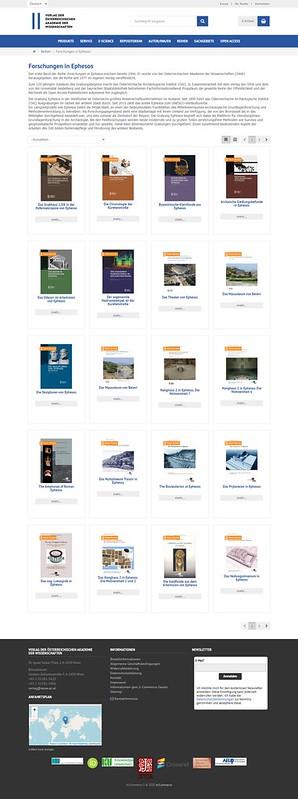 ROMA ARCHEOLOGICA & RESTAURO ARCHITETTURA 2020. Dr. Ursula Quatember, et al., Inizia il Restauro del Tempio di Adriano a Efeso. Austrian Archaeological Institute (2018); 1-730 [in PDF]. S.v., ARCHAEOLOGIE-ONLINE.DE (2020) & JRA 23 (2010): 376-394 [in PDF]