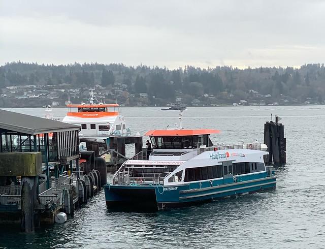 Kitsap Transit Foot Ferry Waterman