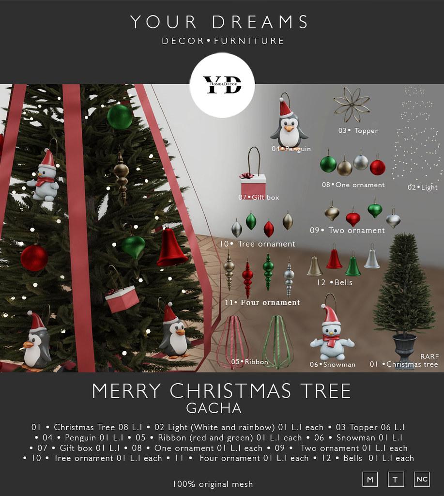 {YD} Merry Christmas Tree – Gacha
