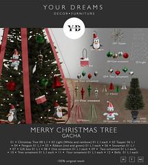 {YD} Merry Christmas Tree - Gacha