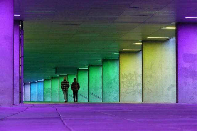 Walking in colors