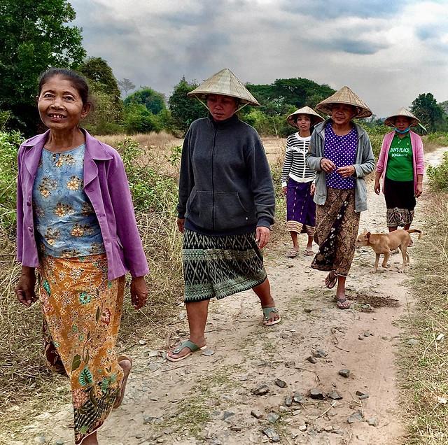 Lovely Lao Ladies