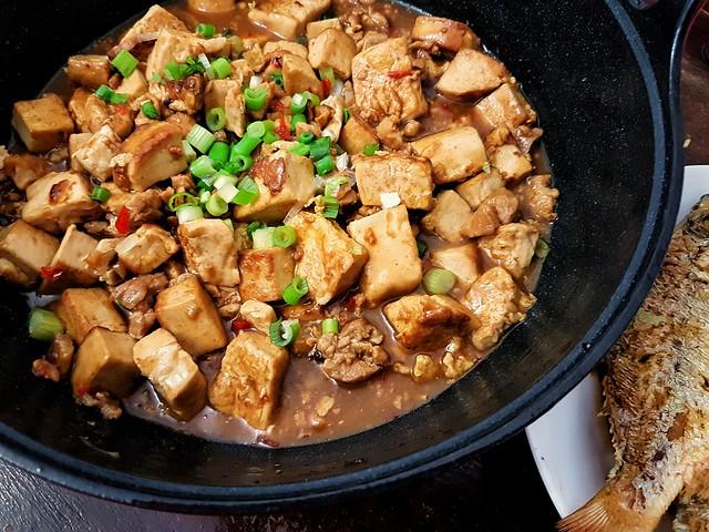 Braised tofu..
