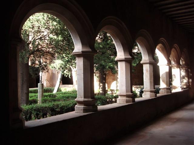 Mora de Rubielos - Claustro Ex-Colegiata Santa María la Mayor