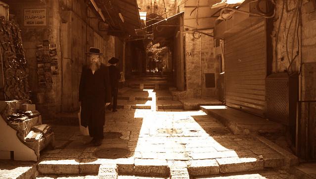 Inside old Jerusalem