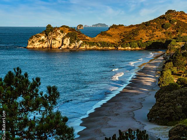 Hahei Beach Coromandel Neuseeland