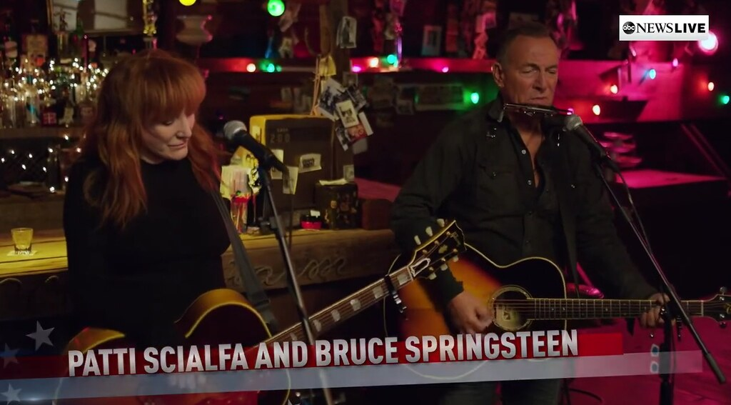 Bruce Springsteen y Patti Scialfa - Stand Up For Heroes