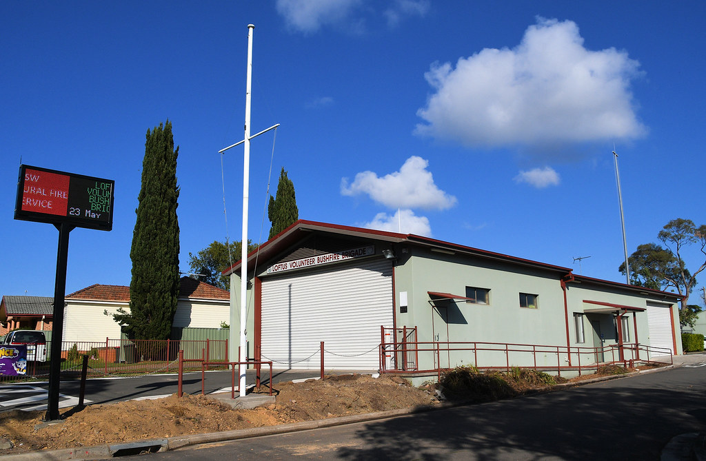 Bushfire Brigade, Loftus, Sydney, NSW.