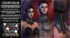 AsteroidBox. Caelum Collar - Updated for Saturday Sale