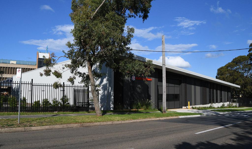 Ambulance Station, Caringbah, Sydney, NSW.