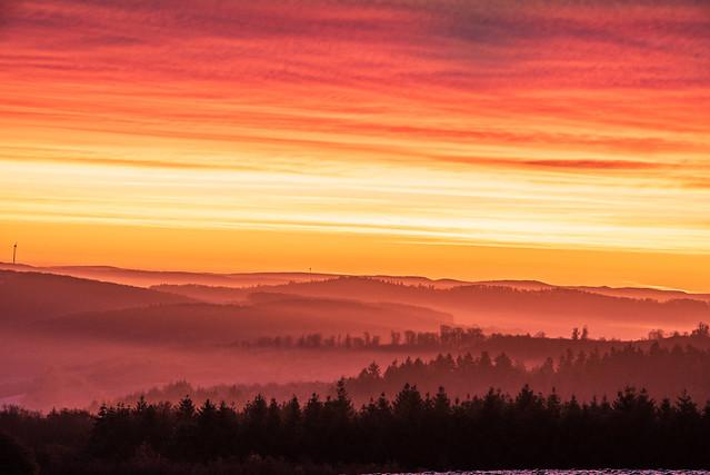 Kurz vor Sonnenaufgang / Just before sunrise