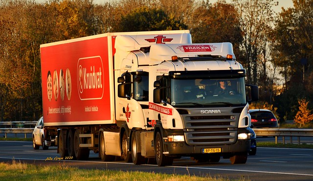 NL=BP-TG-15  SCANIA P 340 by SCANIA Trailer Service of Emmen, Holland
