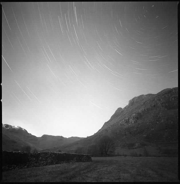 Star Trails over Langdale