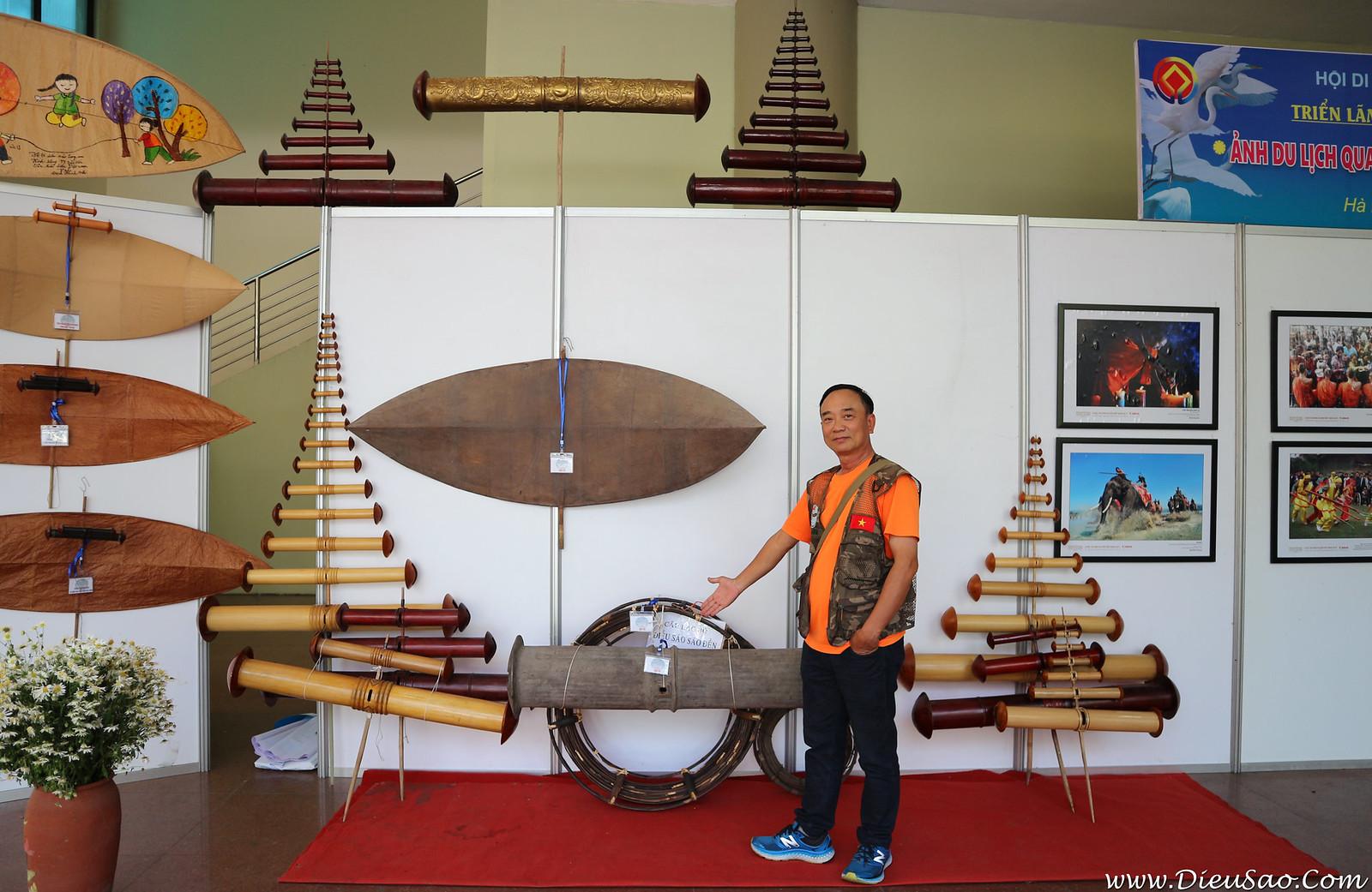 Hoang Van Diep - Giam doc Trung tam Bao ton Van hoa Dieu Viet Nam