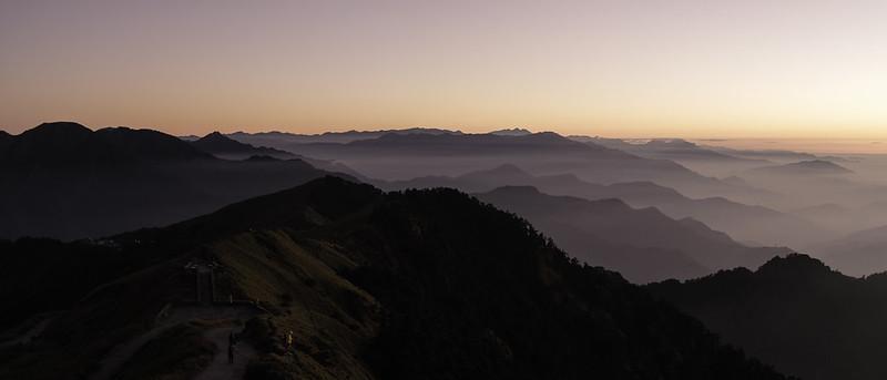 合歡山夕陽|Fujifilm X100V