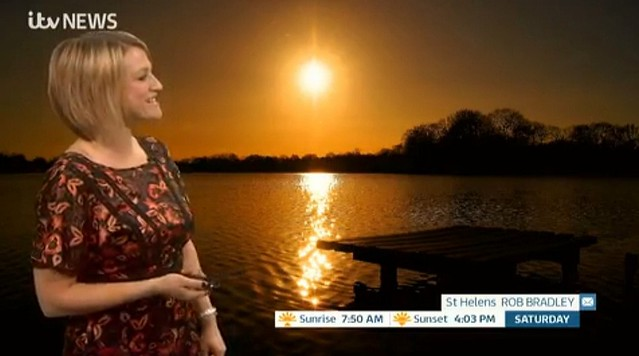 ITV Weather with Kerrie