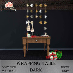 Bloom! - Wrapping Table DarkAD