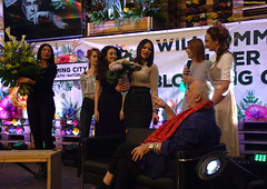 Udo Walz on stage