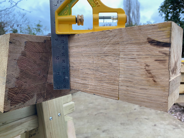 Depth check - tenon