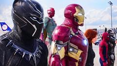 Team Iron Man vs Team Cap - Airport Battle Scene