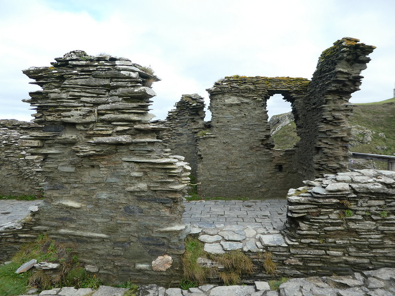 Ruins of Tintagel Castle Cornwall