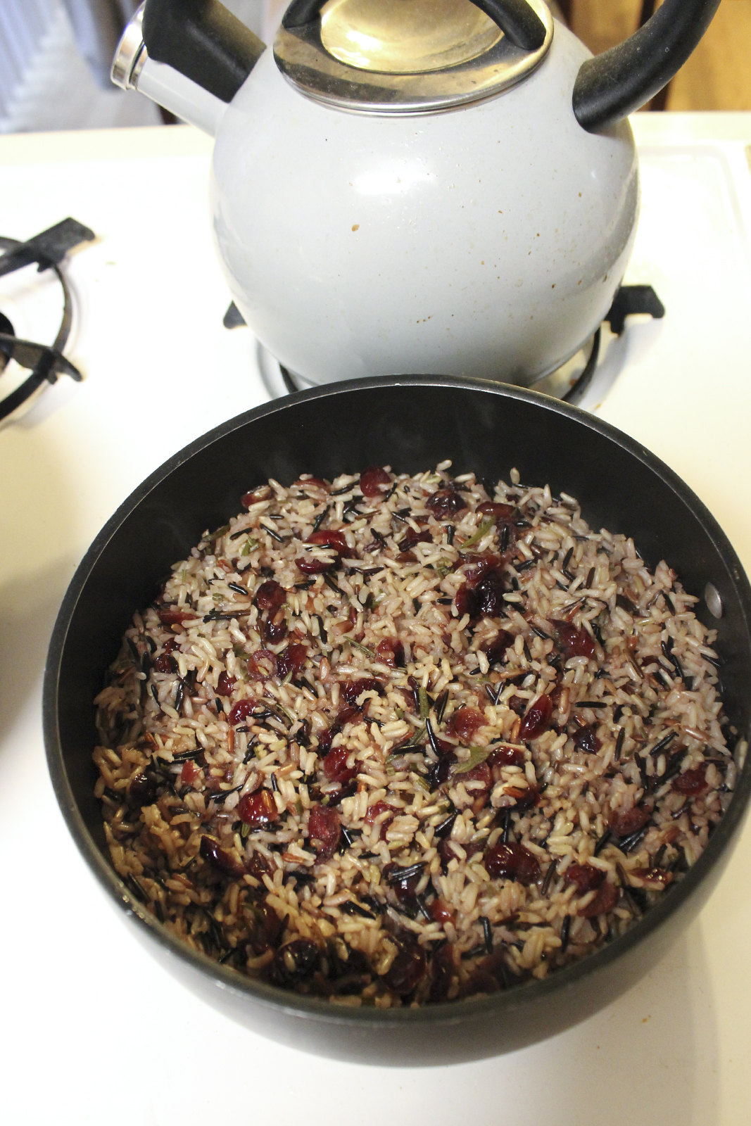 Wild rice pilaf Thanksgiving
