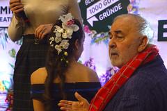 Charlène, favourite hair model of Udo Walz