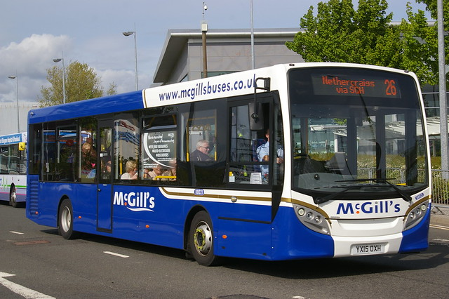 McGILL'S GREENOCK B8021 YX15OXH