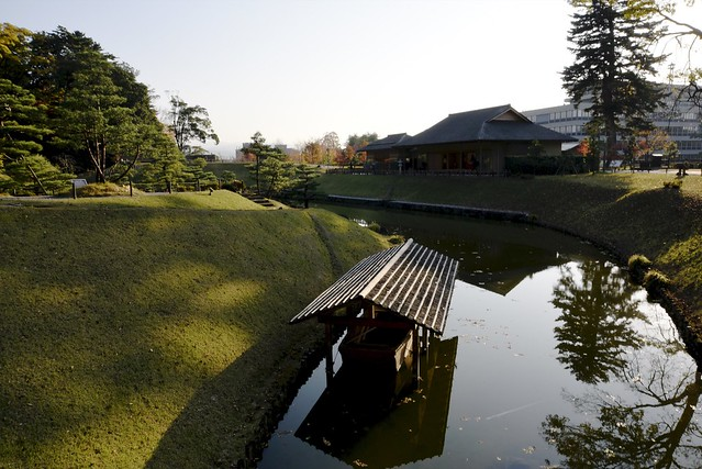 兼六園から尾山神社へ